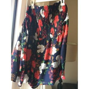 LAST CHANCE Never Worn Floral Romper!